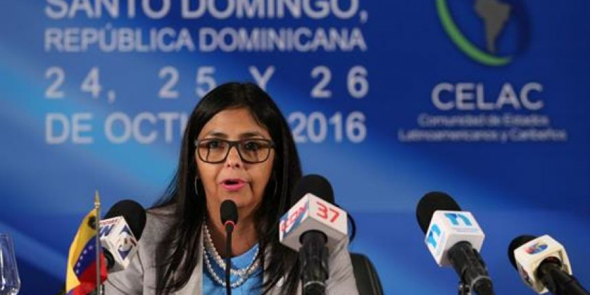 Canciller venezolana dice