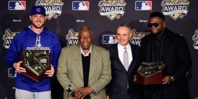 David Ortiz gana el Premio Hank Aaron del 2016