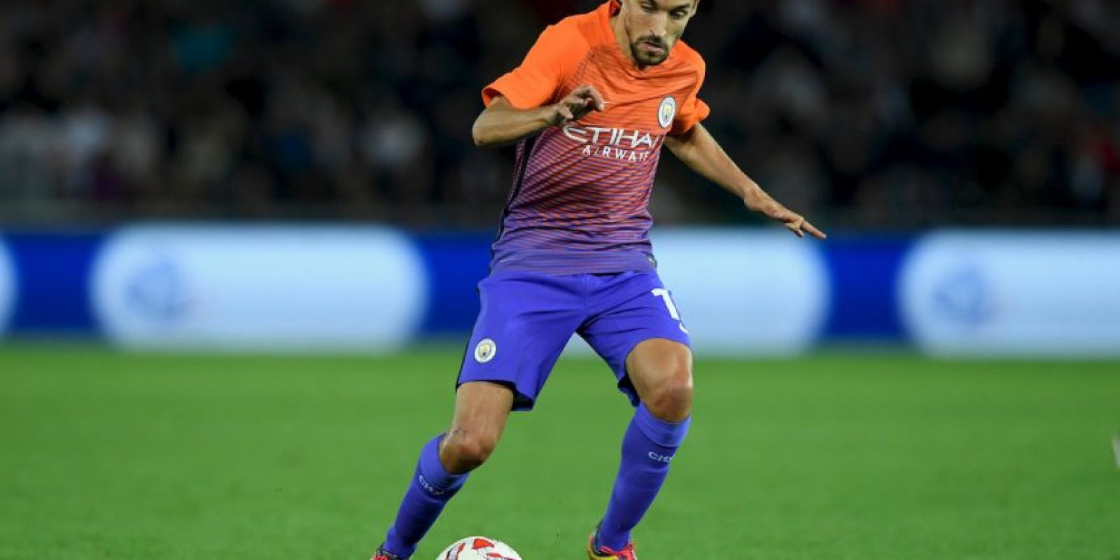 18.Jesus Navas (Manchester City) – 34.65 km/h Foto: Getty images