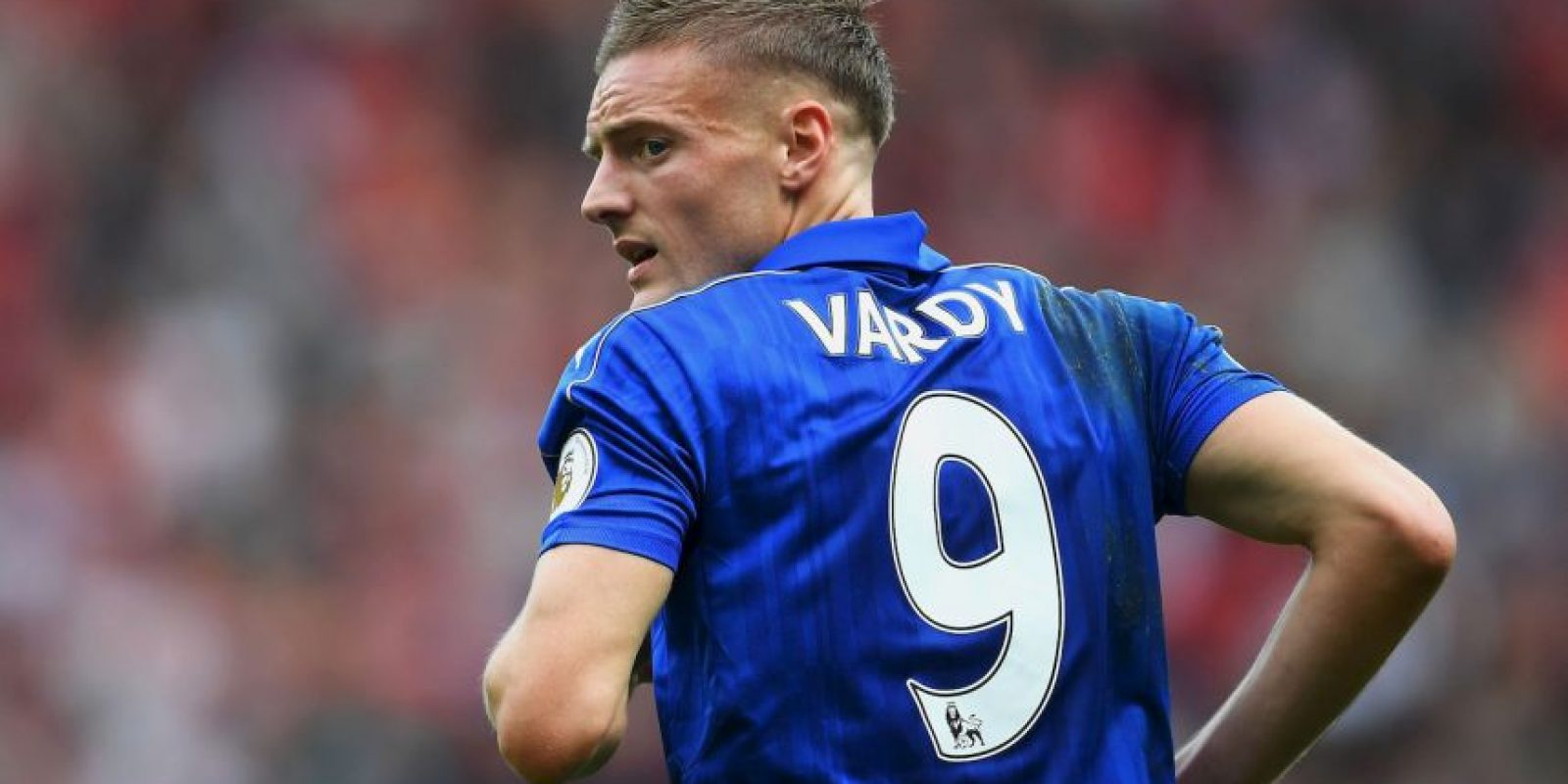 4.Jamie Vardy (Leicester) – 35.1 km/h Foto:Getty images