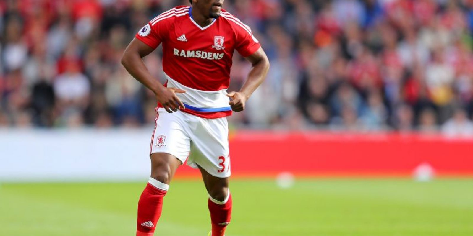 7.Adama Traore (Middlesbrough) – 34.84 km/h Foto: Getty images