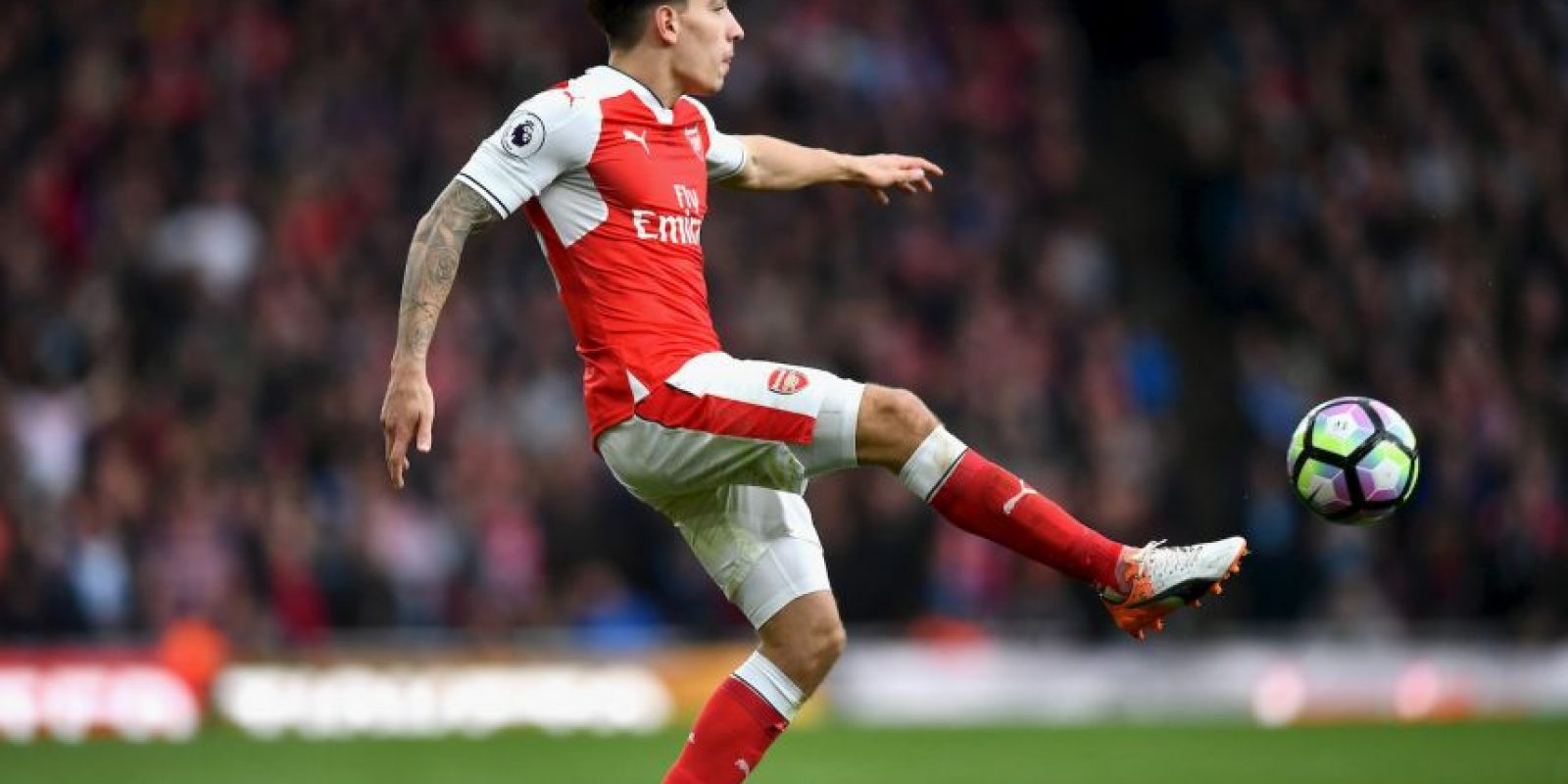 13.Héctor Bellerín (Arsenal) – 34.77 km/h Foto: Getty images