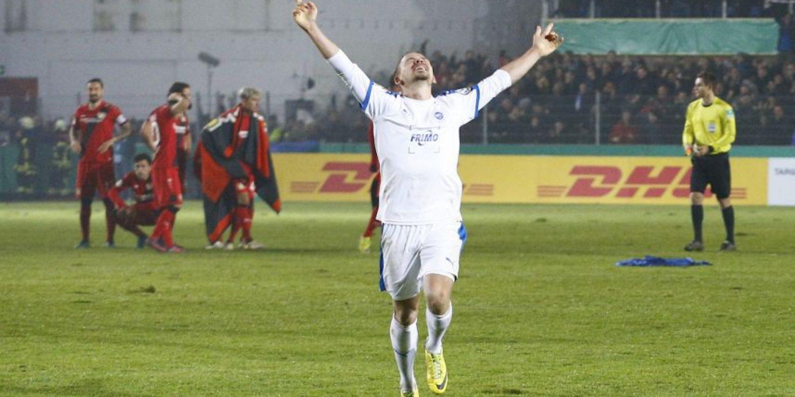 Bayer Leverkusen fue eliminado de la Copa de Alemania por un club de tercera división Foto:Getty Images