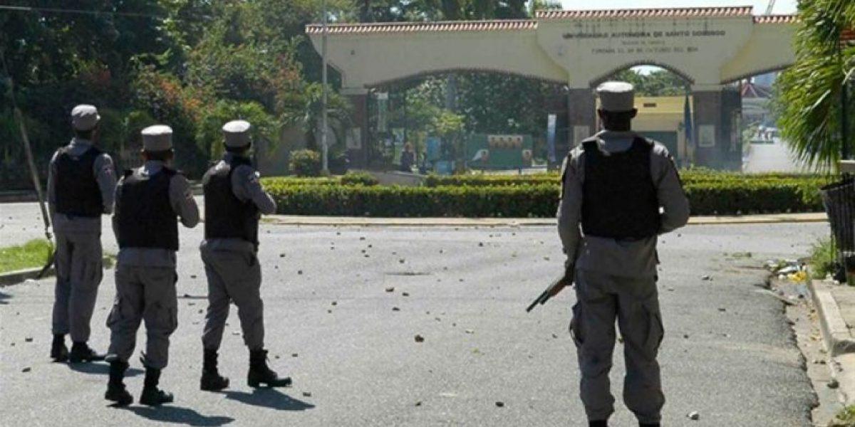 Continuan los enfrentamientos en la UASD