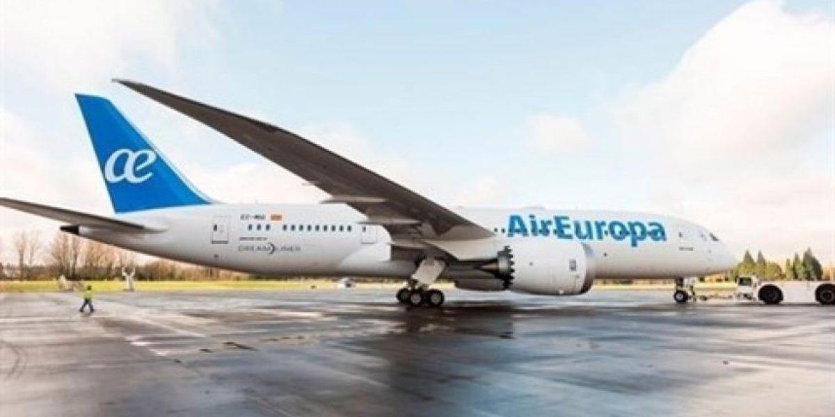 Air Europa aterriza en Santo Domingo con el Boeing 787