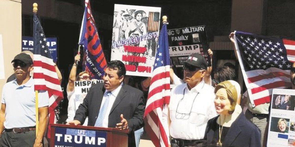 """Latinos por trump: """"Trump tiene la experiencia"""""""