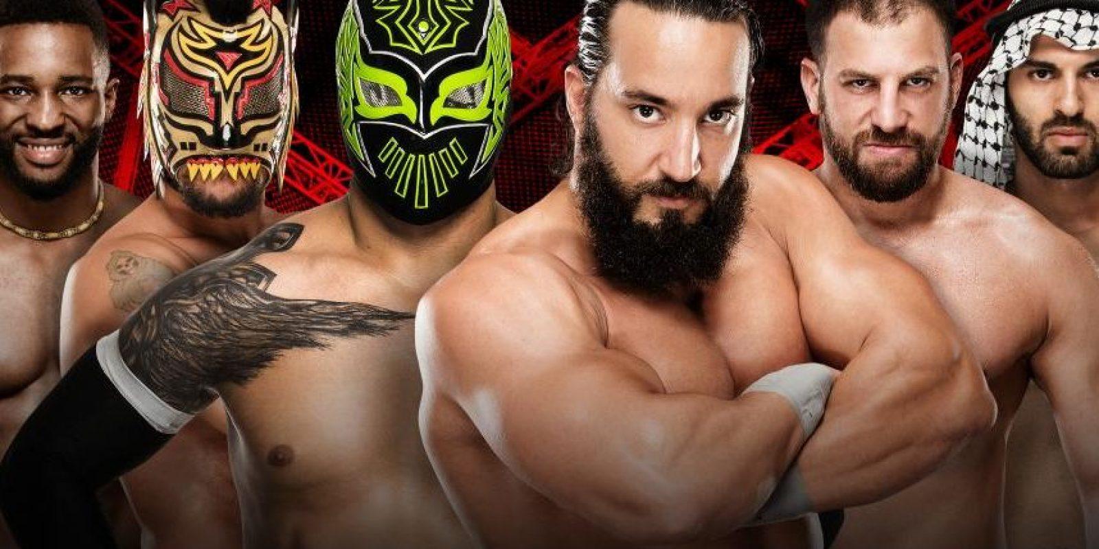 Kick-Off. La primera pelea sera entre Cedric Alexander, Lince Dorado y Sin Cara vs. Tony Nese, Drew Gulak y Ariya Daivari Foto:WWE