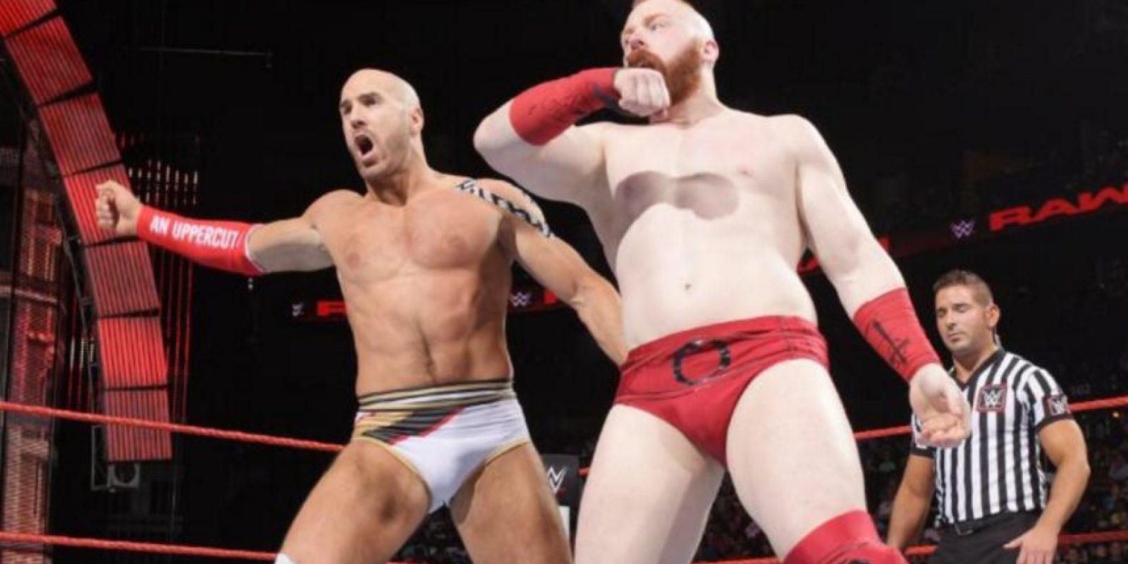 Se mide a Cesaro y Sheamus Foto:WWE
