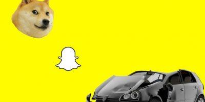 Por usar Snapchat, mujer semidesnuda acabó involucrada en accidente