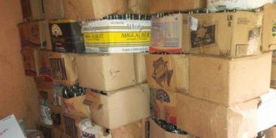Desmantelan laboratorio clandestino de bebidas alcohólicas en San Cristóbal