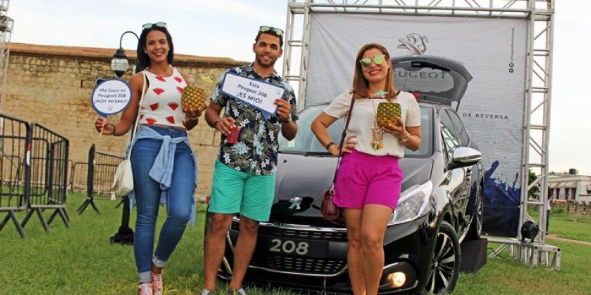 "#TeVimosEn:Peugeot 208 en ""Zoneo Colonial Food Fest"""