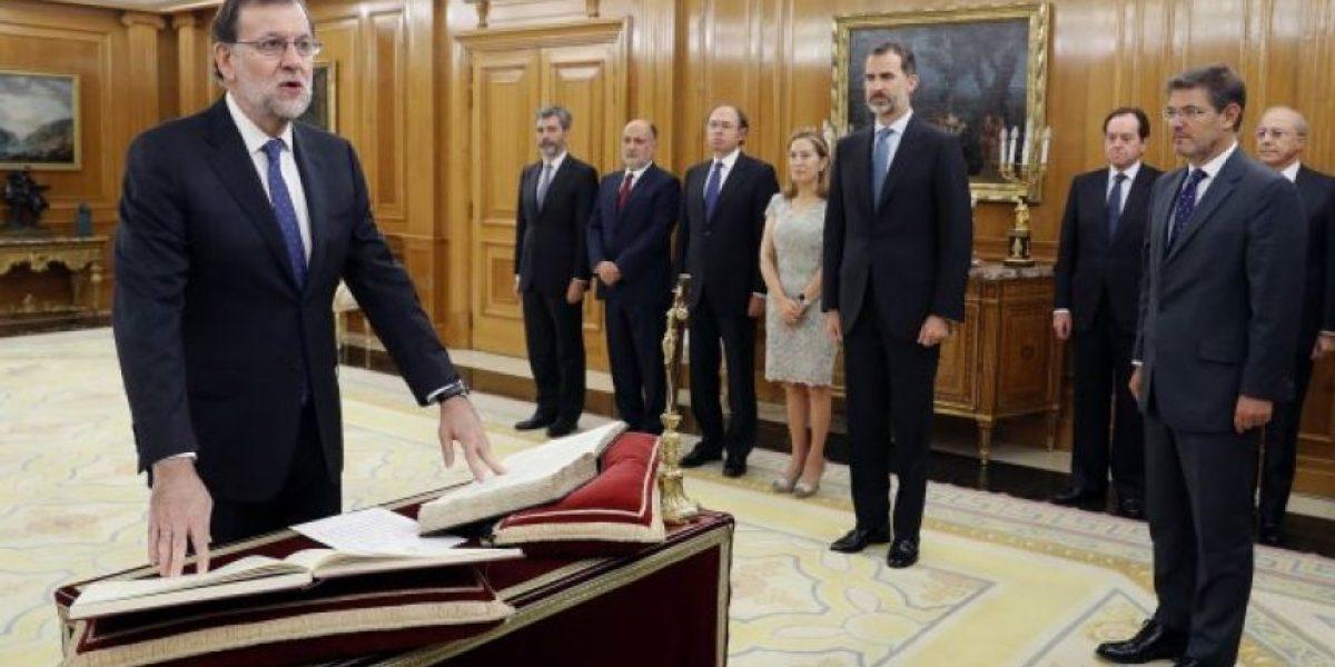 Rajoy juró como presidente de España