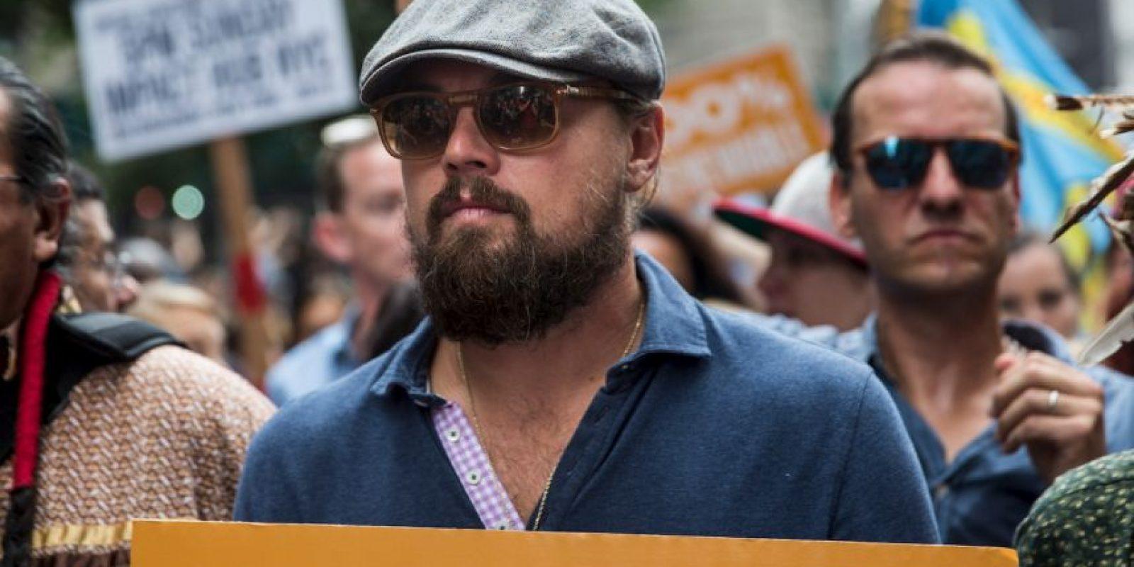 La lucha de Leonardo DiCaprio contra el cambio climático Foto:Getty Images