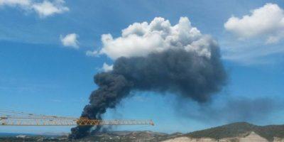 Temor por incendio en refinería de Venezuela