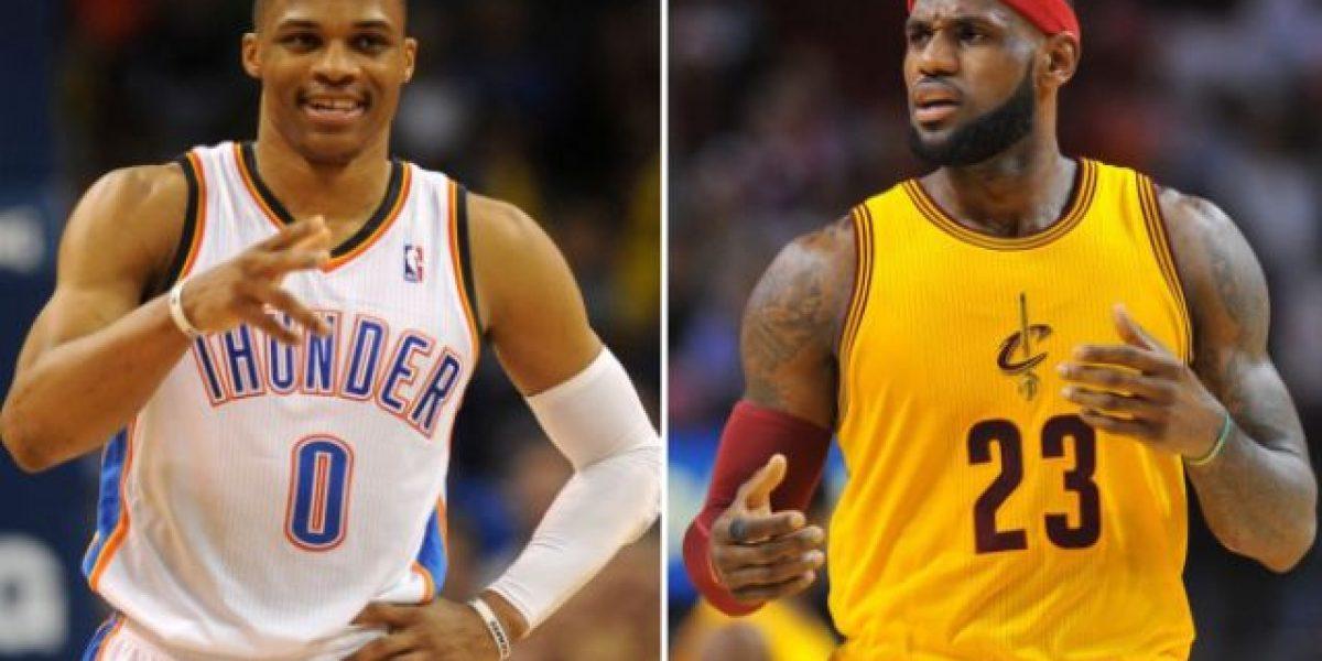 Westbrook y LeBron fueron elegidos  Jugadores de la Semana