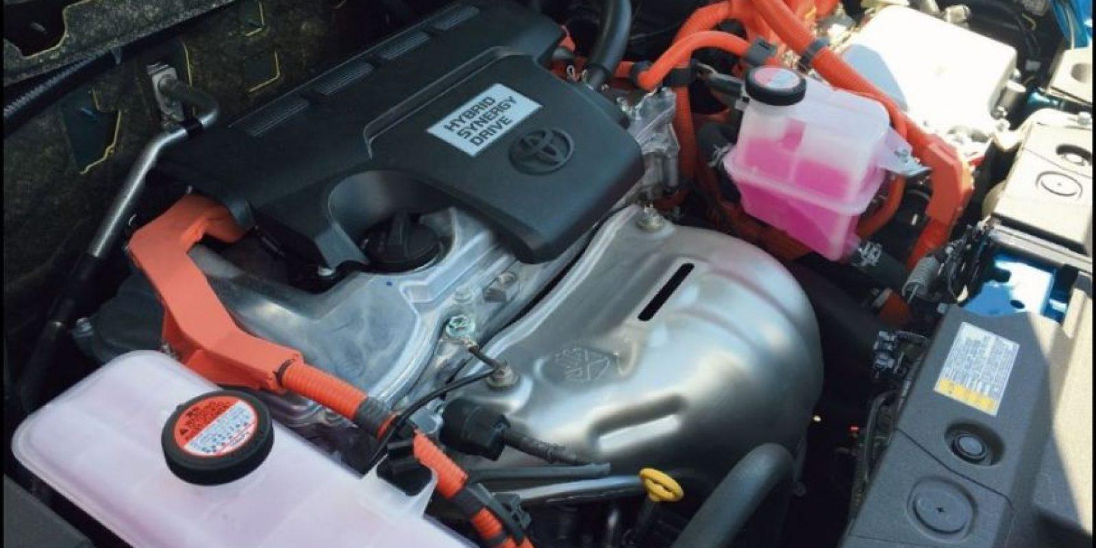 Combina motor eléctrico y un motor de 2.5 L Foto: / víktor rodríguez-velázquez