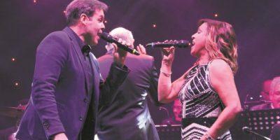 """""""Generaciones Big Band"""" cantaron por amor"""