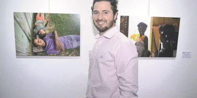 Iván Bordas, artista Foto: Fuente externa