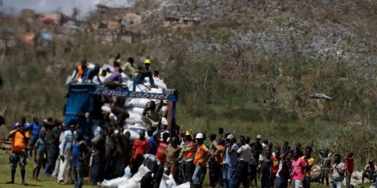 Saquean camión de Unicef con ayuda humanitaria en Haití