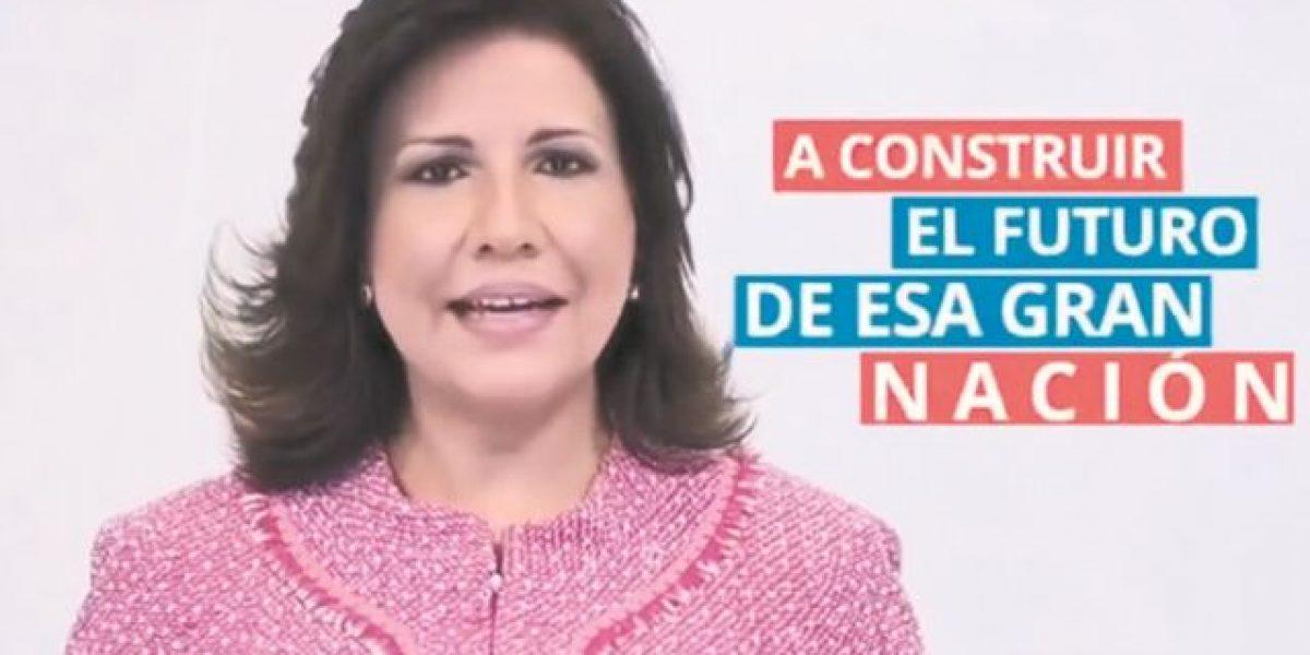 Cedeño usa su cargo de vicepresidenta y llama a los dominicanos en EE.UU. a votar por Clinton