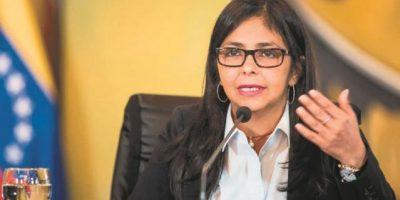 """La canciller de Venezuela: """"Liberación de opositores es una primera gran señal"""""""