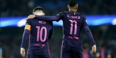 Messi tuvo duro encontrón con jugadores del City en camarines