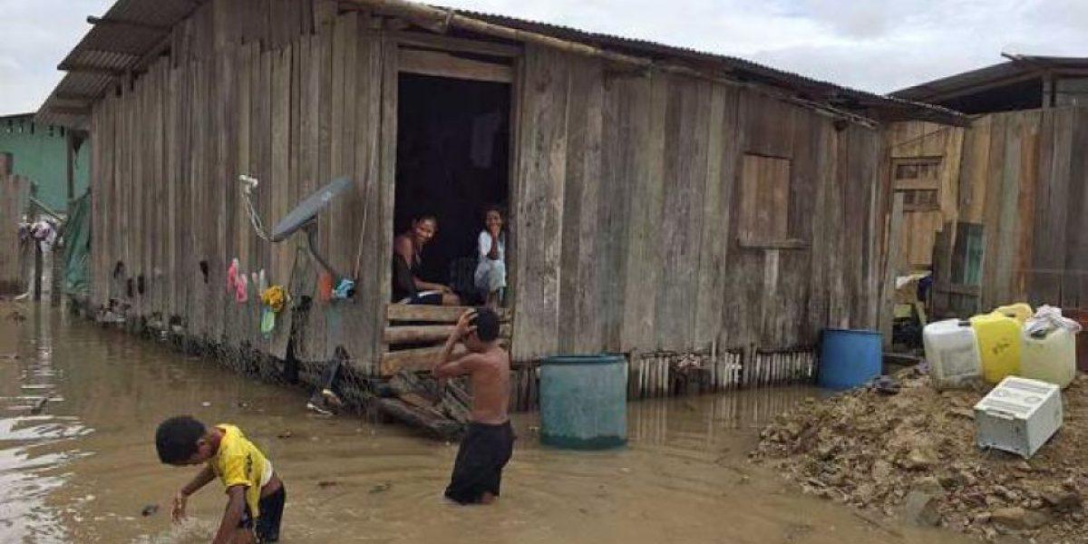 Más de 8,288 desplazados por las lluvias en el país