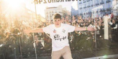El MC Arkano rompe récord mundial de rap