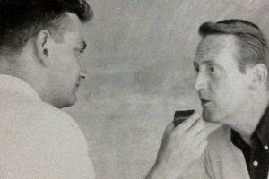 Tomás entrevista a Vince Scully. Foto:Fuente externa