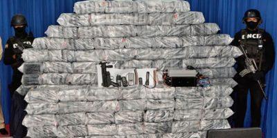 Ocupan más de 600 kilos de drogas en tres meses