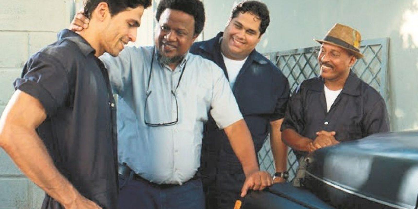 Aquiles Correa, en su primer papel fuera de una comedia. Foto:Fuente externa