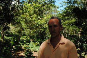 Francisco Javier Peralta, presidente Núcleo Caficultores Juan Santiago. Foto:NB