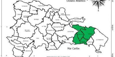 COE declara alerta verde en El Seibo, San Pedro de Macorís y Hato Mayor