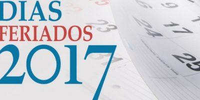 Ministerio de Trabajo da a conocer fechas de feriados en 2017