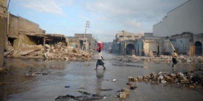 Cuatro personas mueren al desplomarse una casa por lluvias en norte de Haití