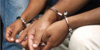 Apresan tres personas que asaltaron a capitán en San Cristóbal