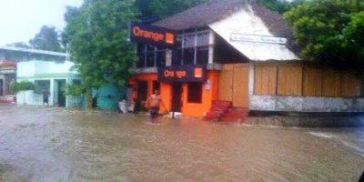 Defensa Civil visita zonas afectadas por lluvias en Puerto Plata