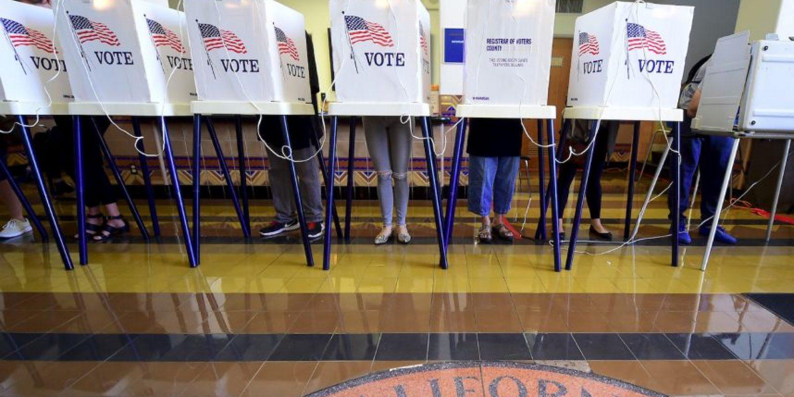 Hoy se celebraron las elecciones presidenciales en Estados Unidos Foto:AFP