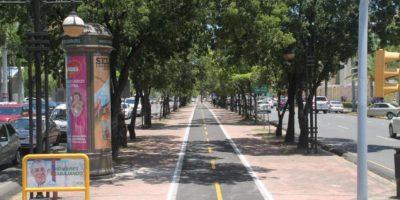 AMET interviene ciclovía de la avenida Winston Churchill
