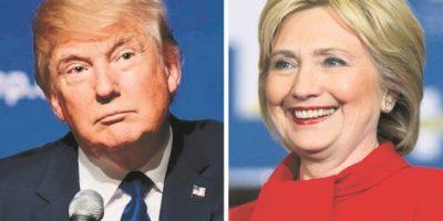 """""""Clinton tiene una pequeña ventaja"""""""