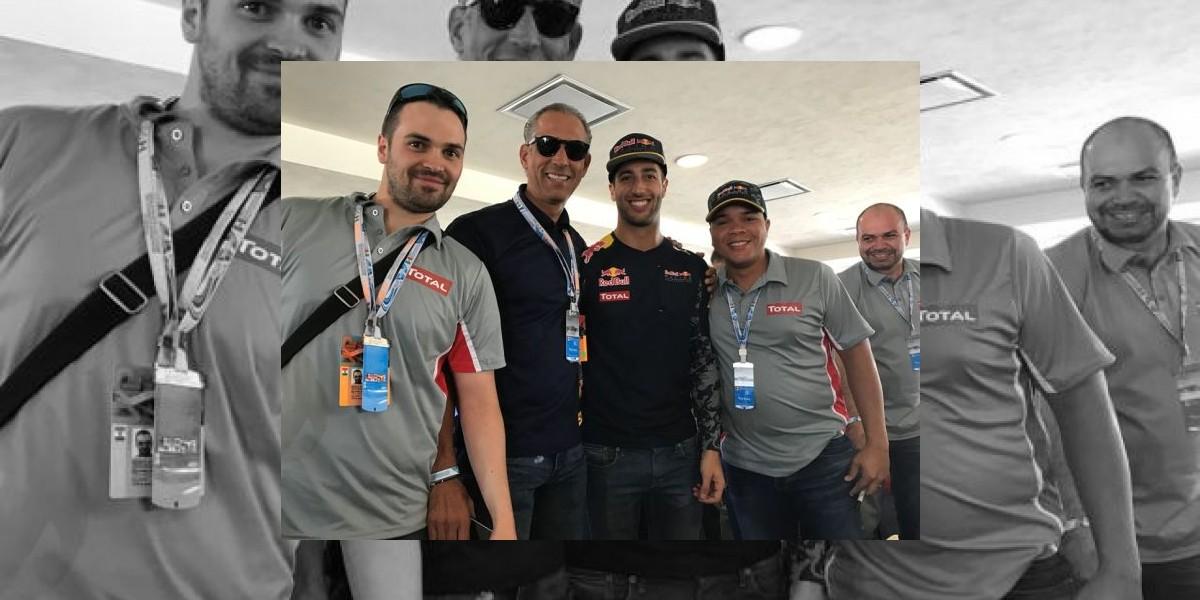 TOTAL Dominicana asiste a Gran Prix de México