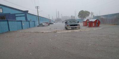 Más de 9 mil desplazados  por las fuertes lluvias