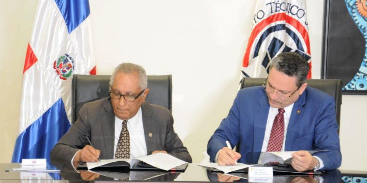 Superintendencia de Electricidad e ITSC firman acuerdo de cooperación