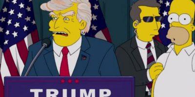 ¿Los Simpson predijeron la victoria de Trump?