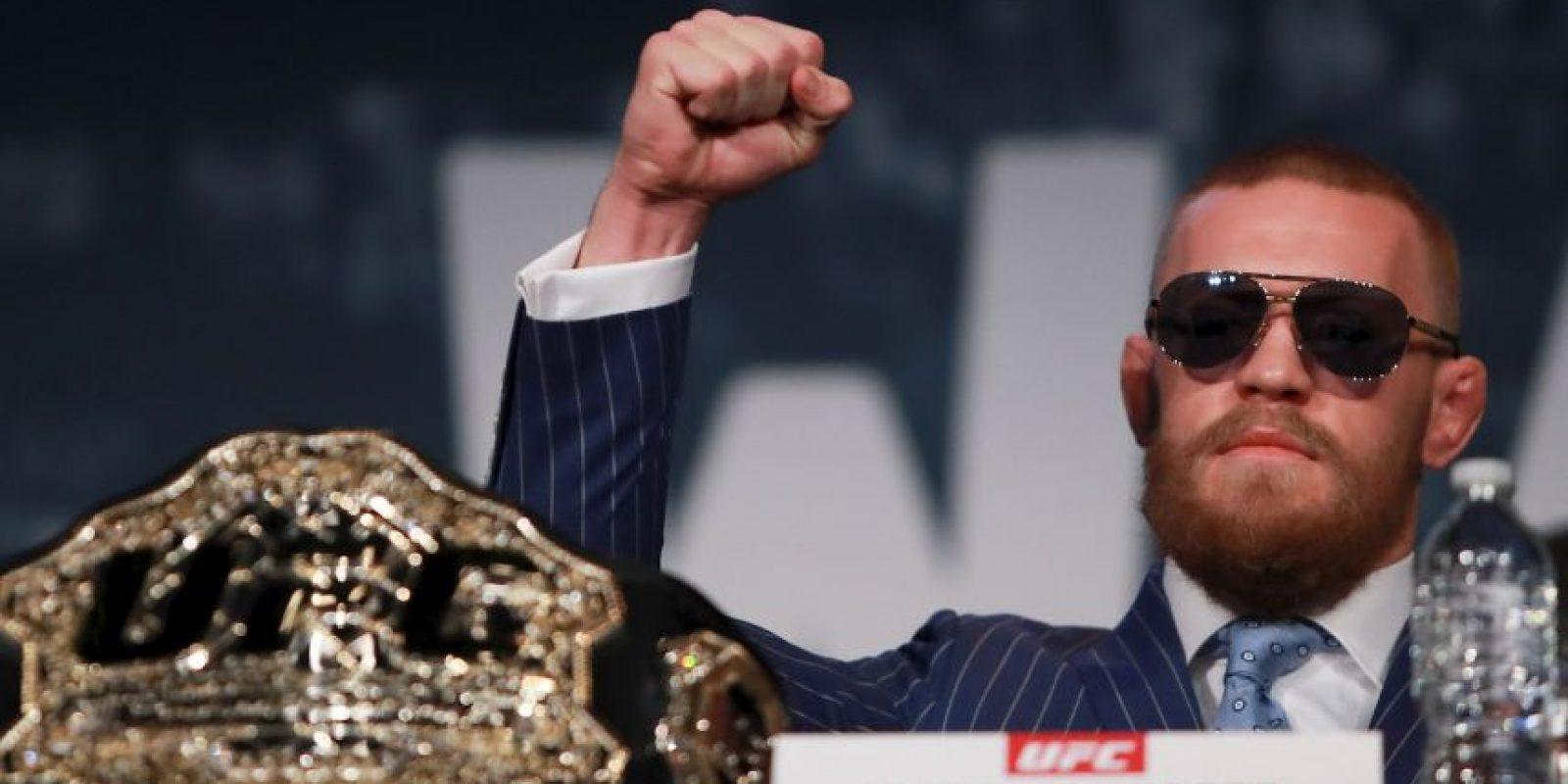 Conor McGregor busca hacer historia en UFC Foto:Getty Images