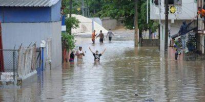 Medina promete ayuda a afectados   por  lluvias en Puerto Plata