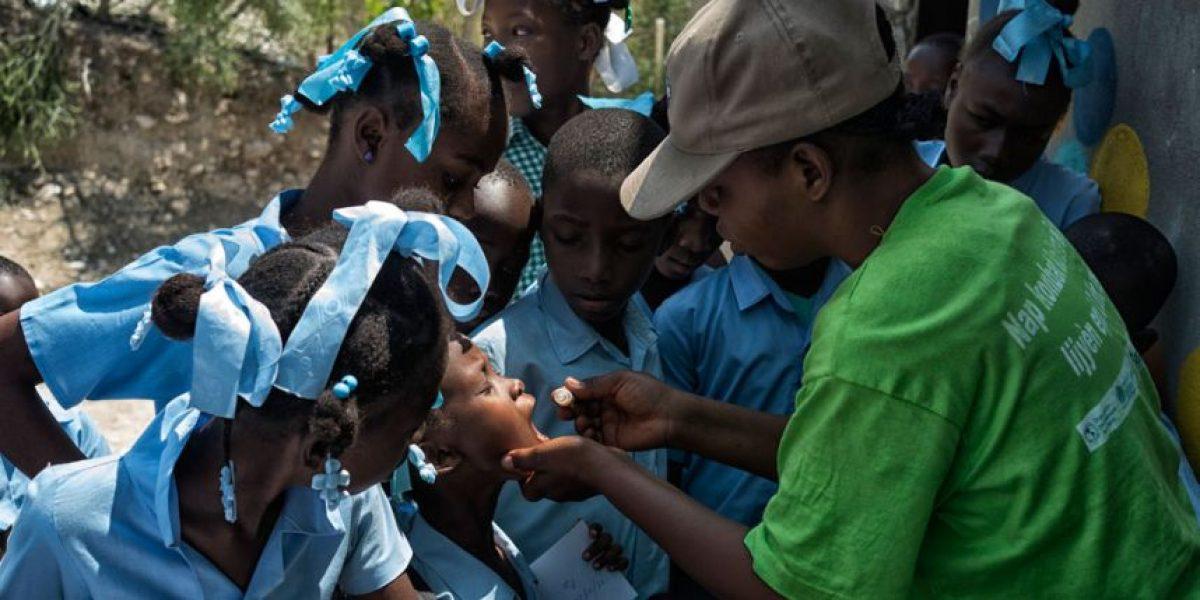 Haití inicia jornada de vacunación contra cólera