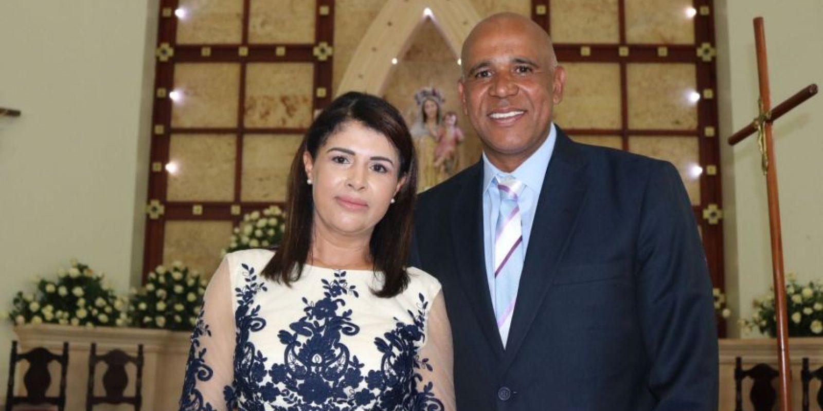 Sandra Batista y Gelfi Cruz Placencia Foto:Fuente externa