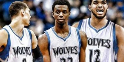 Towns, Wiggins y LaVine: El baby Big Three de los Timberwolves