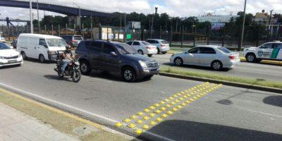 Amet retira reductores de velocidad en avenida del Puerto